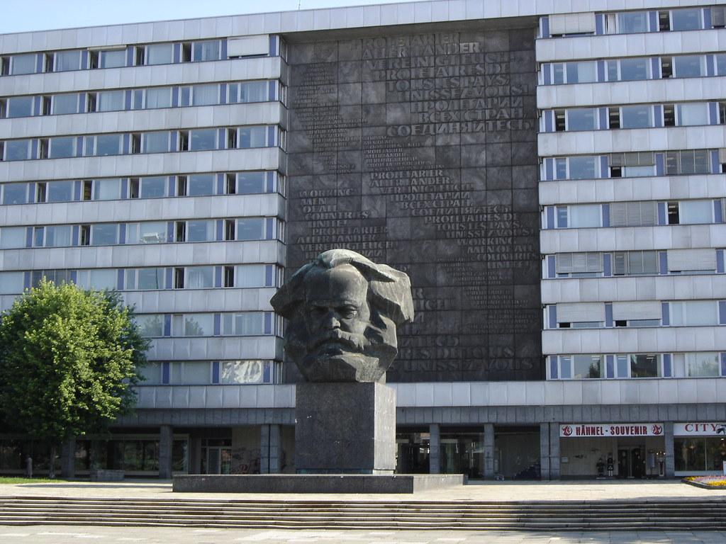 Chemnitz: Karl Marx Statue