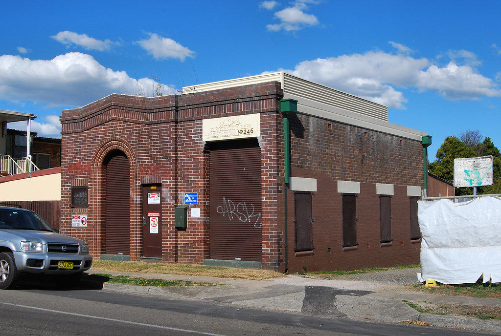 Electical Substation, Concord, NSW.
