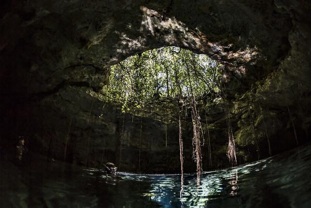 Cenotes Taj-Mahal
