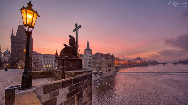 Sunrise, Charles Bridge