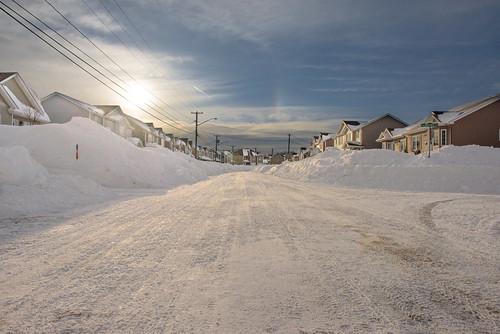 canada moncton newbrunswick shawnharquail travel glow ice shawnharquailcom snow sunrise tracks winter