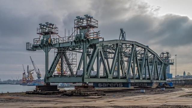 Het 'val' van de Koningshavenbrug bijnaam: 'De Hef'- Rotterdam