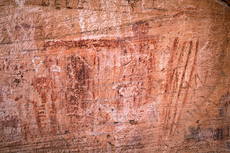 Damaged Pictographs