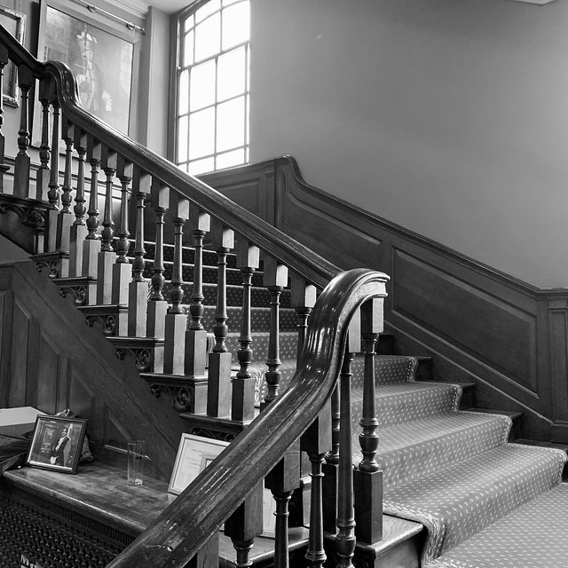 Staircase at the Guildhall