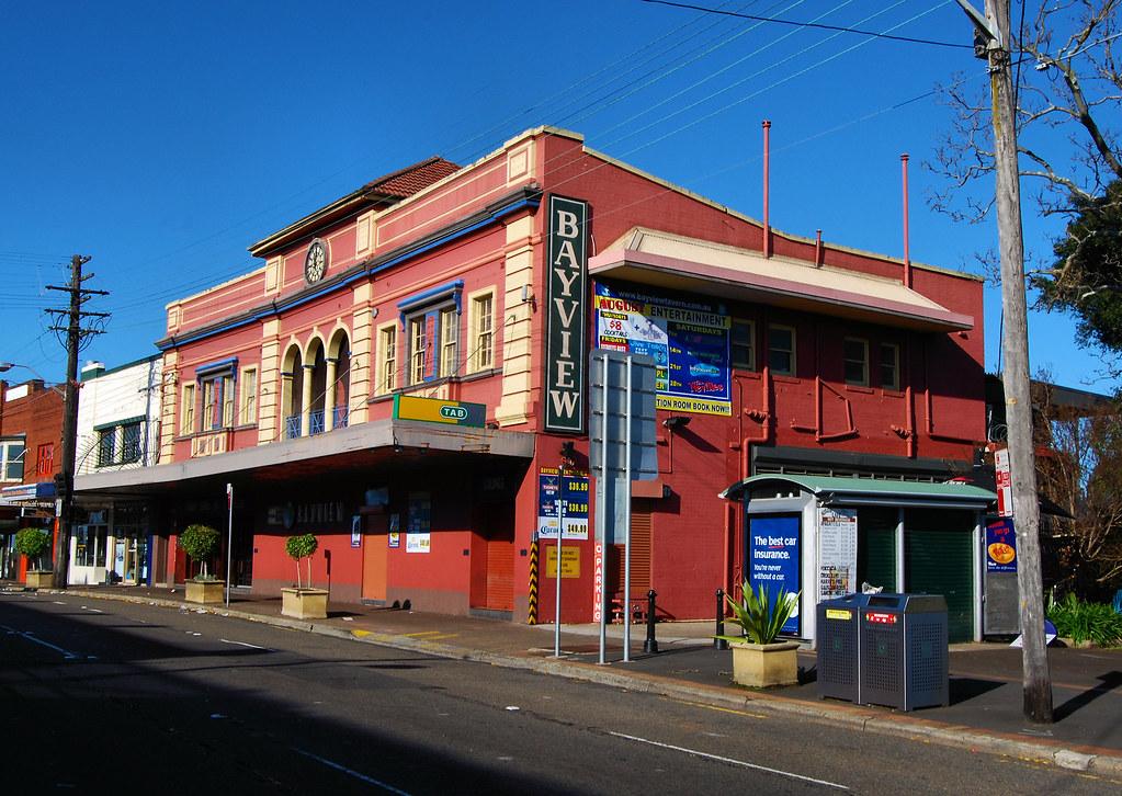 Bayview Hotel, Gladesville, Sydney, NSW.