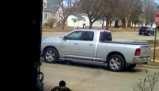 Silver pickup truck ! - HTT | by Maenette1