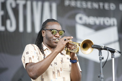 Troy Sawyer & the Elementz at French Quarter Fest - 4.13.19. Photo by Michele Goldfarb.
