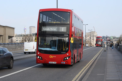 Go-Ahead London MHV84 BV66VKD
