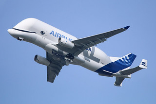 F-WBXS AIRBUS Beluga XL #2 First flight | by @Eurospot