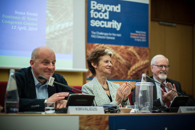 Beyond food security: the challenges for the next FAO Director-General 12.04.2019