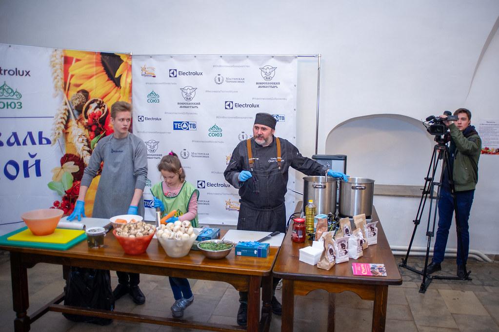 В Новоспасском монастыре прошел VI Фестиваль постной кухни