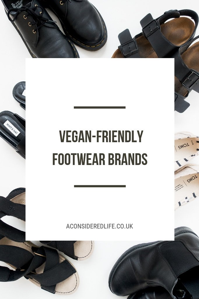 Vegan-Friendly Footwear