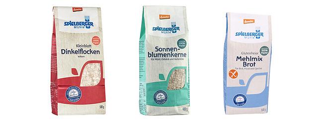 100% Papier: Neue Verpackungen der Spielberger Mühle