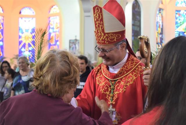 Domingos de Ramos na Catedral de São Carlos