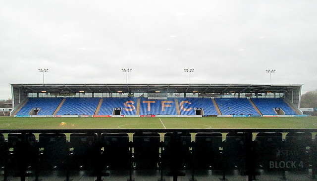 West Stand, New Meadow Stadium, Shrewsbury