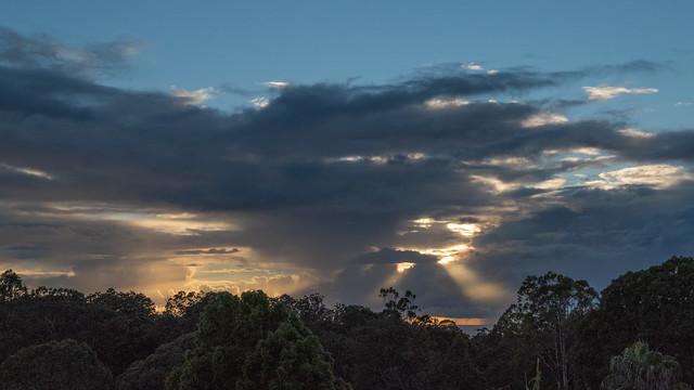 Storm Stifles Sunrise
