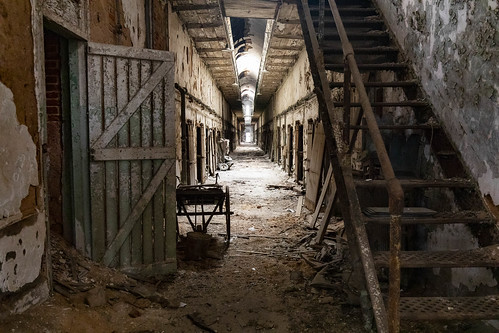 Abandoned Cell Block | by eric.minbiole