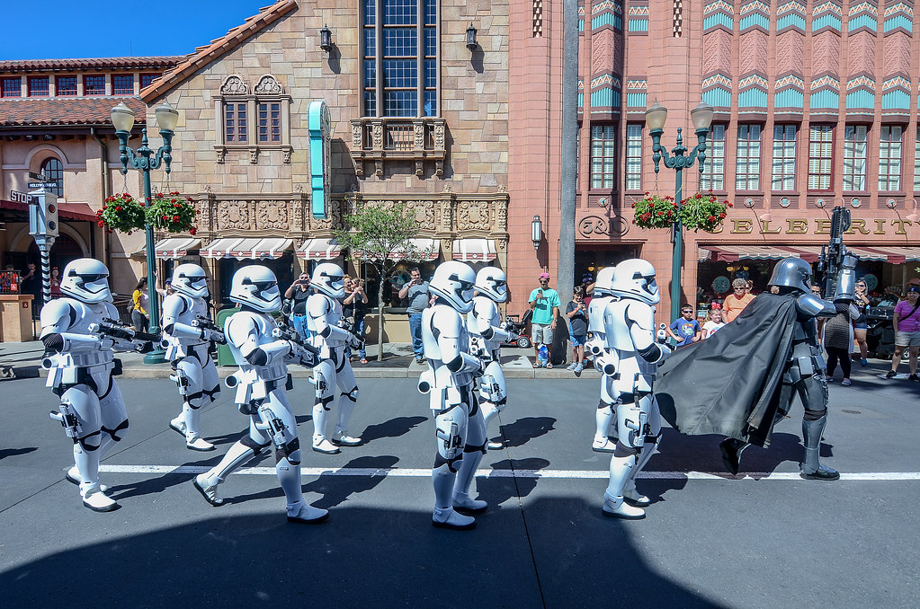 Star Wars march DHS