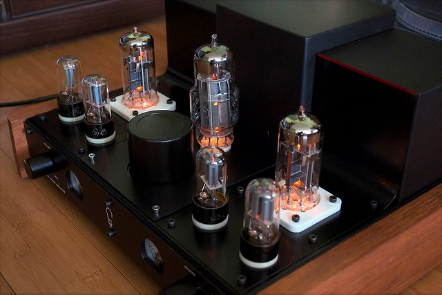 SE Stereo Triode Amplifier.