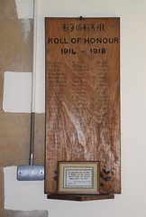 roll of honour 1914-1918