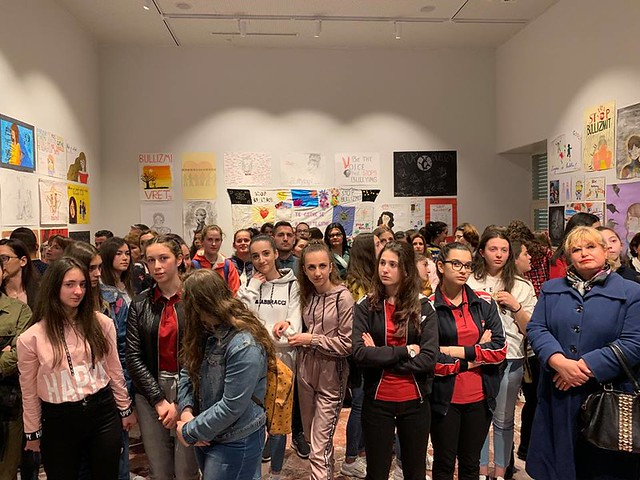 "ALBANIA: the exposition ""A voice against bullying"""