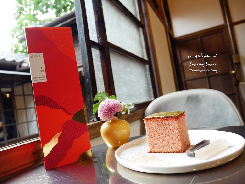 台北金錦町下午茶餐點伴手禮金箔蜂蜜蛋糕 (3)