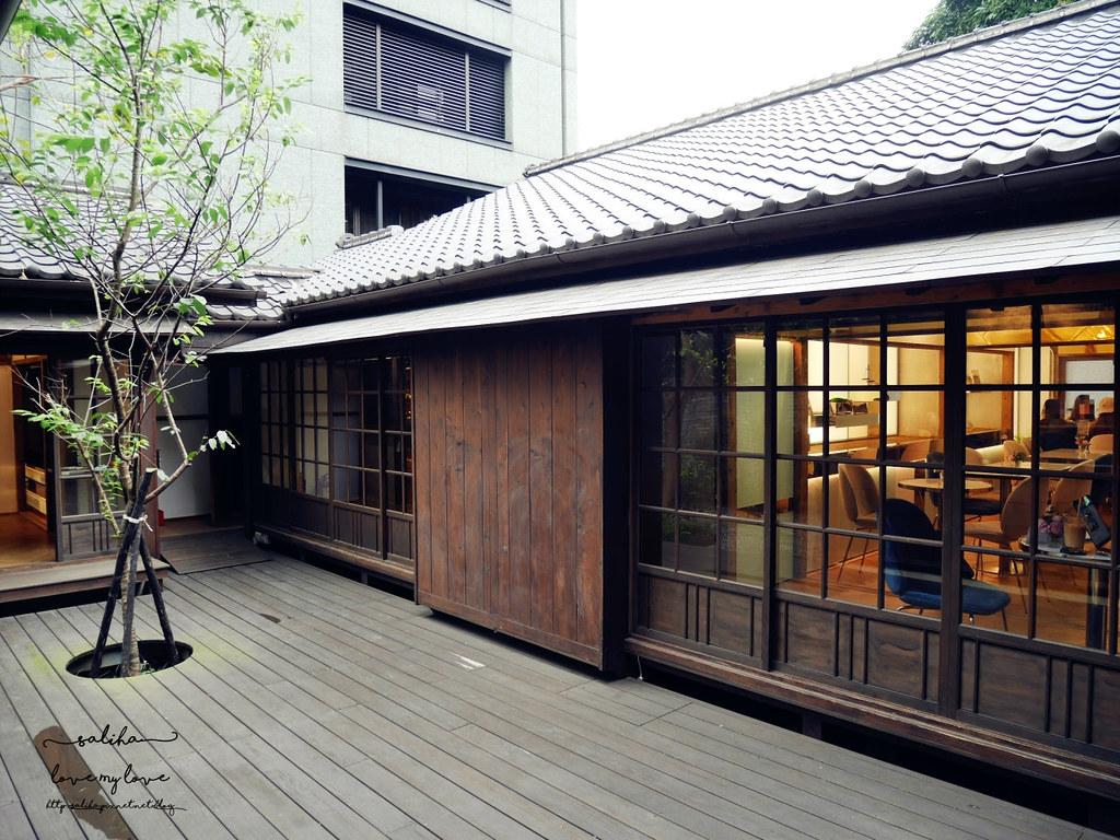 台北大安金華街古亭站附近老屋咖啡廳老房子改建氣氛好餐廳伴手禮下午茶 (1)