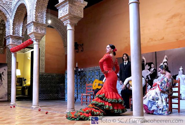 La Fundación Cristina Heeren y Lina 1960 despidieron con flamenco la cumbre mundial del turismo WTTC Sevilla 2019