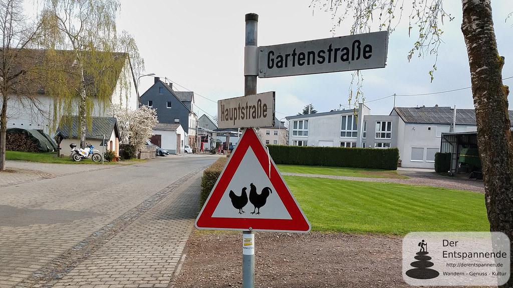 Vorsicht Hühner! (in Kail)