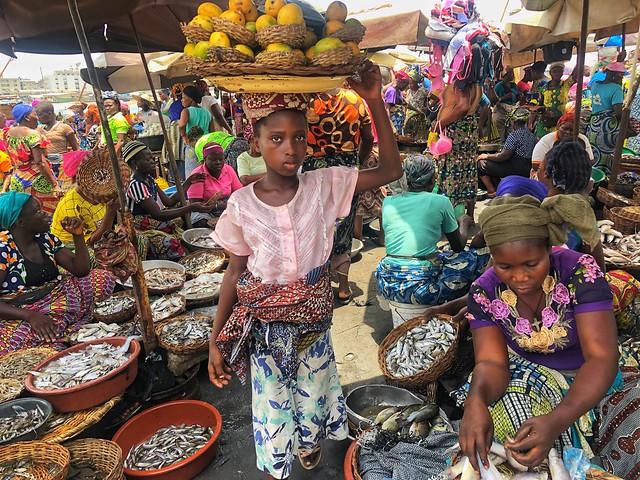 Mercado de Dantokpa (Cotonou, Benín)