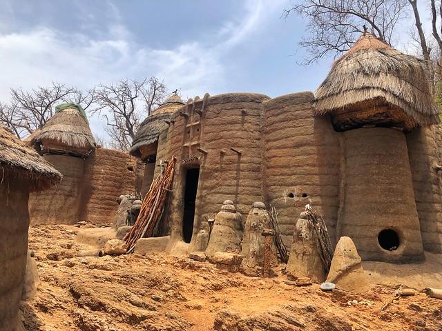 Casas somba (Tatas somba en Togo)