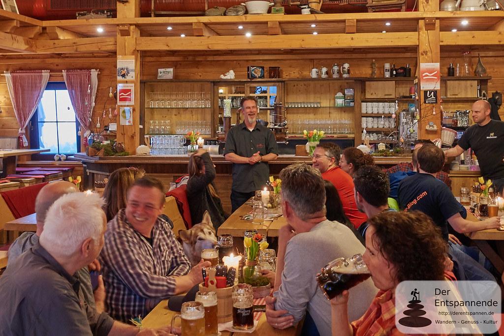 Andrew Kesper in der Graf Stolberg Hütte