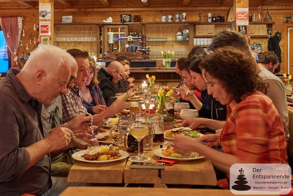 Essen in der Graf Stolberg Hütte