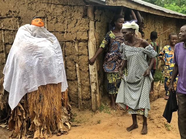 Máscara Gelede de Ogbagba en Benín