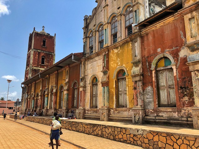 Porto-Novo, ciudad colonial de Benín