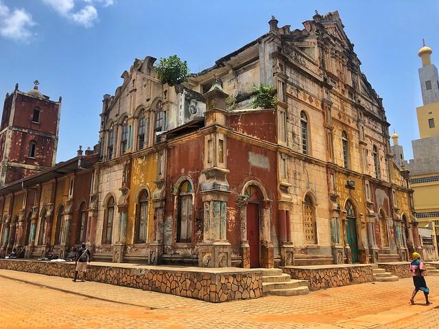 Mezquita de Porto-Novo en Benín