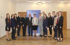 """Встреча с """"юными дипломатами"""""""