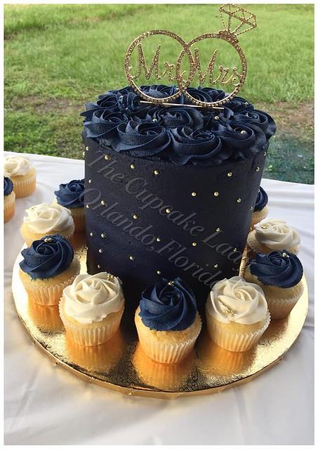 Cake by The Cupcake Lady Orlando,Florida