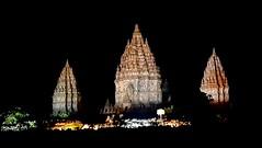 Prambanan temple. #prambanan #temple #hindu #indonesia #yogyakarta #night #light #relief #culture #religion #ramayan #asia #java #wonder