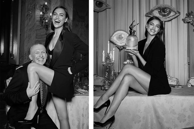 Ирина Шейк в рекламе Scandal a Paris