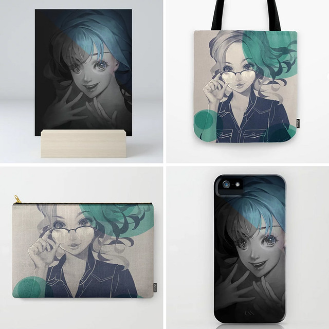 Products of my work on Society6