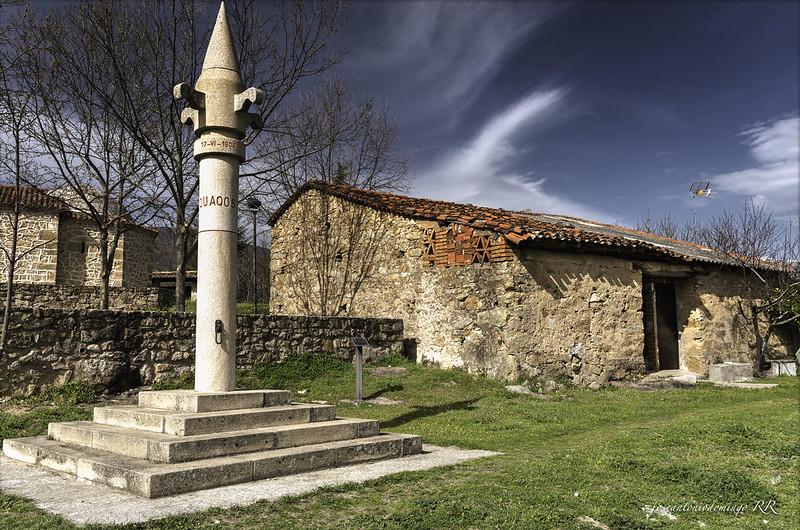 Rollo o picota. Cuacos de Yuste (Extremadura)