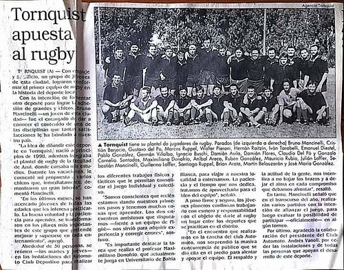rugby acd hugo dorregaray