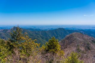 日の出山、高岩山、麻生山@展望台