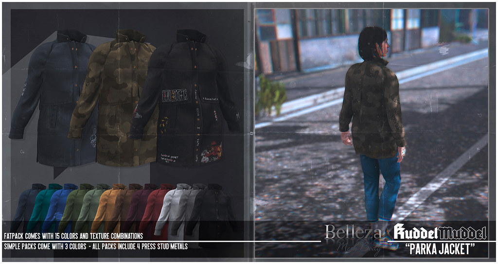 [KuddelMuddel] PARKA Jacket @ Men Only Monthly