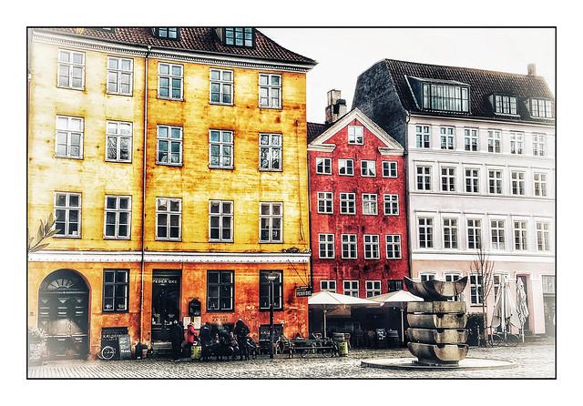 Une fontaine de Copenhague