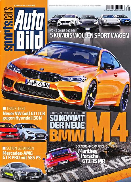 Auto Bild Sportscars 5/2019