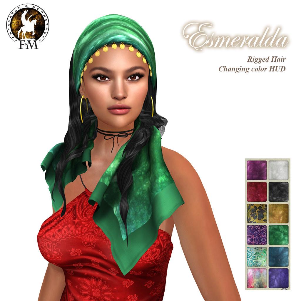 Fantasy Faire 2019 Exclusive - F&M Oblivion * Esmeralda - TeleportHub.com Live!