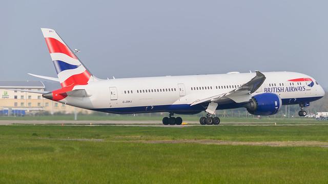 G-ZBKJ - British Airways 787-9 @ Cardiff Airport 17/04/19