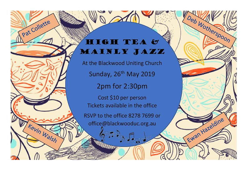 High Tea & Mainly Jazz